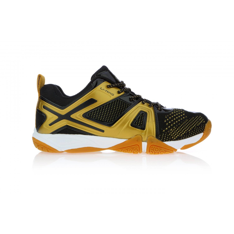 Li Ning Omega Black Badminton Shoes
