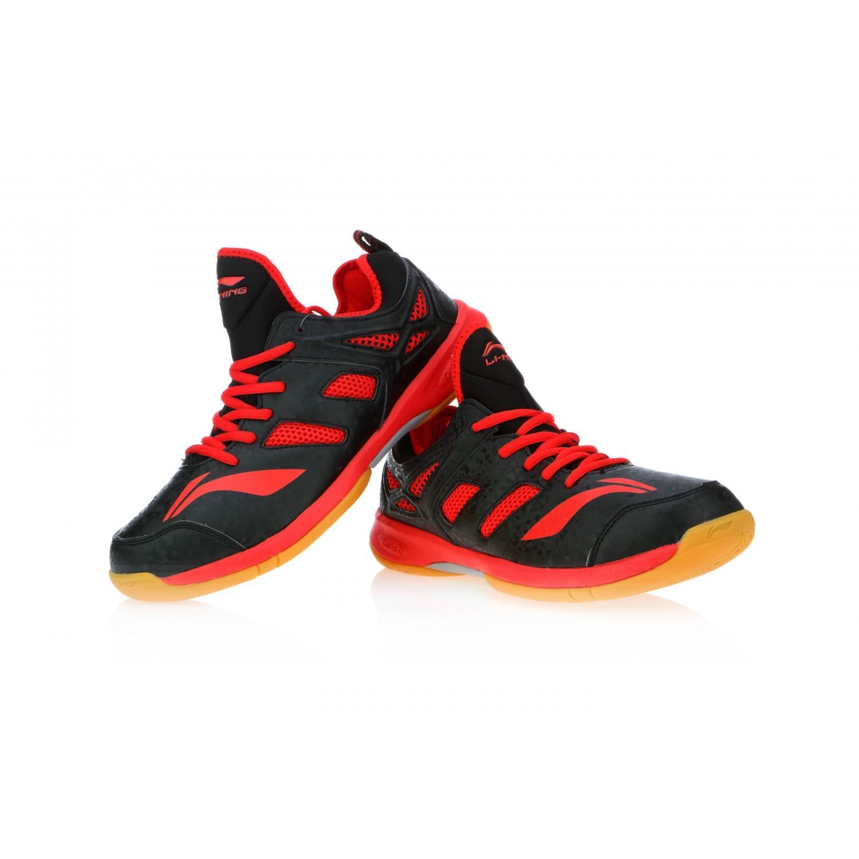 Li Ning Brio Black Badminton Shoes