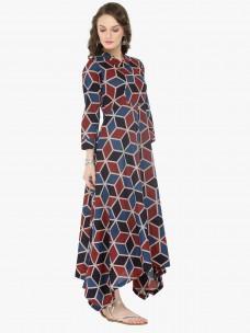 Varanga Multi Cotton Printed Dresses