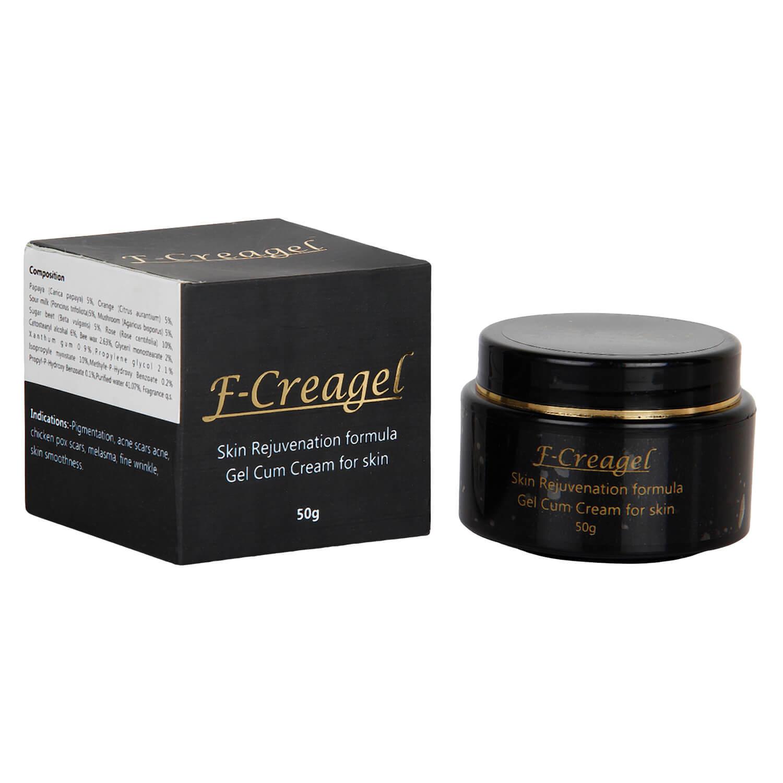 Antiaging F-creagel Glowing Skin Cream Pack of 3 - 50 grams Each