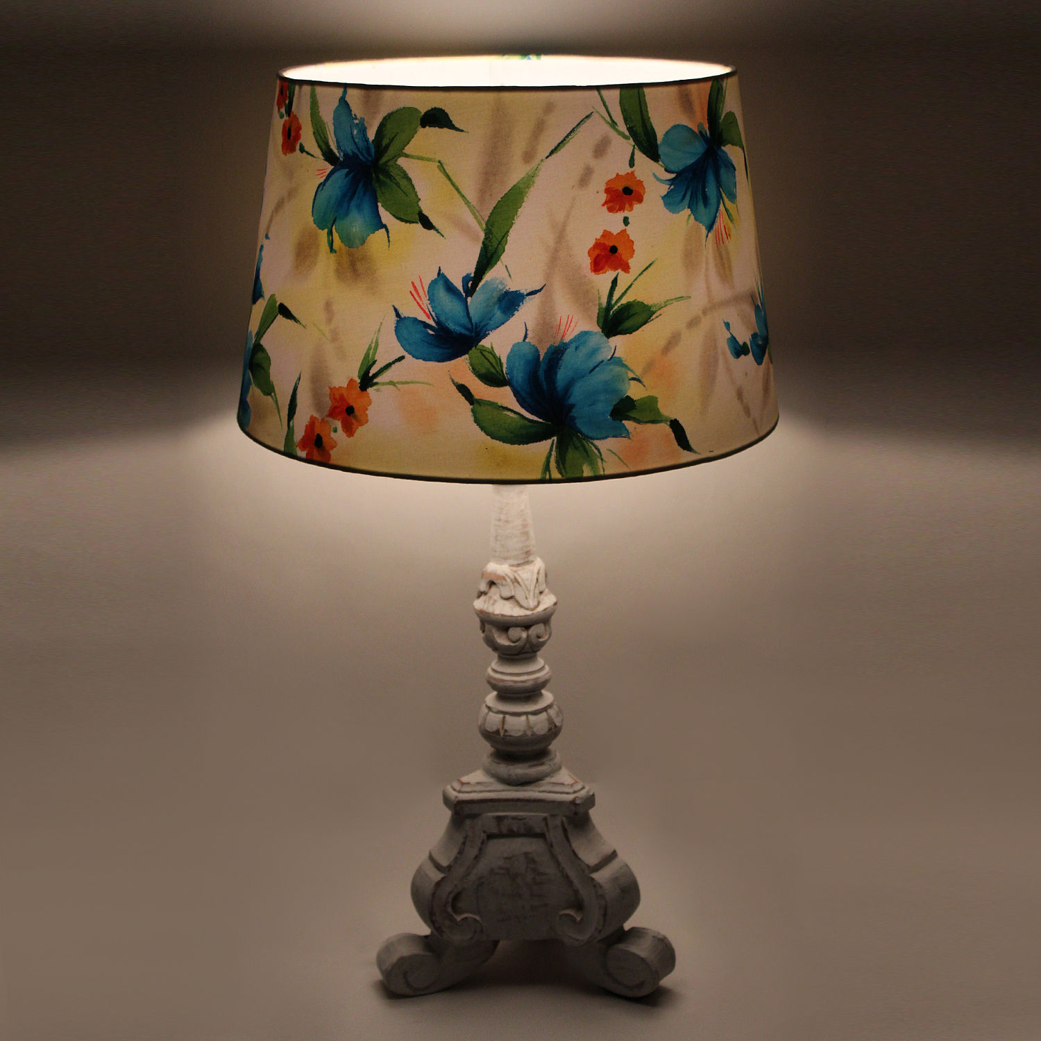 The decor mart butterfly garden hand painted lamp shade pack of 1 aloadofball Choice Image