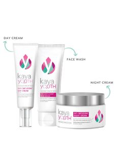 Glow Boost Trio: Face Wash + Day Cream + Night Cream