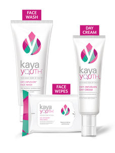 All Day Glow Set: Face Wash + Day Cream + Wipes
