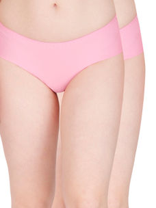 Secret Wish Seamless Pink Panty - Pack of 2