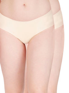 Secret Wish Skin Seamless Panty - Pack of 2