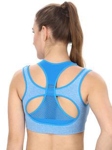 Blue Activewear Sports Bra