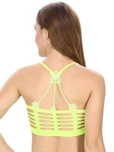 Neon Green Coloured Bralette