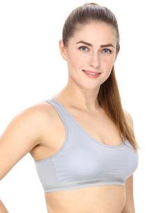 Grey Activewear Sports Bra