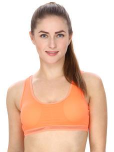 Orange Activewear Sports Bra