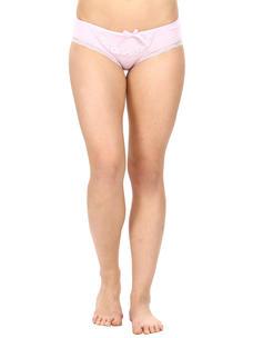 Mid Waist Bikini Panty-Light Purple