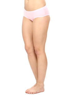 Full Coverage Cotton Panty in Baby Pink