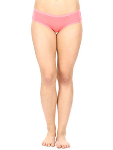 Full Coverage Cotton Panty in Pink