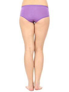 Full Coverage Cotton Panty in Purple