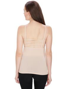 Secret Wish Padded Lacy Skin Bralette, Bra, Camisole