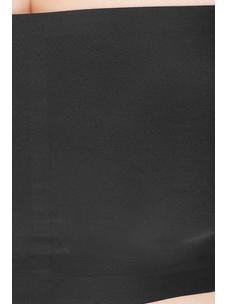 Secret Wish Padded Nylon,Spandex Black Tube Bra