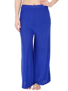 Secret Wish Women's Blue Palazzo Trouser