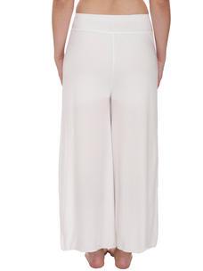 Secret Wish Women's White Palazzo Trouser
