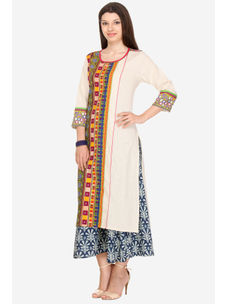 Varanga Multi Cotton Printed Kurta