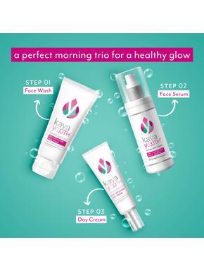 Oxy Triple Boost Trio: Face Wash + Day Cream + Face Serum