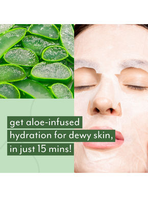 Hydrating Face Mask - Pack of 4 at 50% off