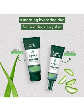 Daily Hydration Duo: Face Wash + Day Crème