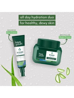 Ultimate Hydration Combo: Day Crème + Night Cream