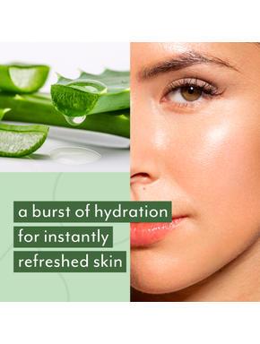 24 hour Hydration Combo: Aloe Vera Gel + Face Wipes