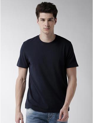 100% Cotton Blue T-Shirt