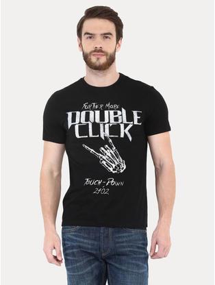 Black Printed T-Shirt