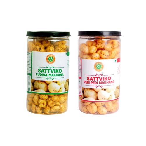 Sattviko Healthy and Crunchy Makhana Combo(150gm)