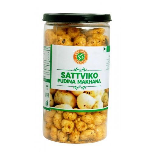 Sattviko Pudina Makhana Pet Jar (75 Grams)