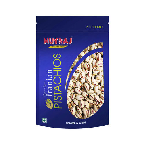 Nutraj Iranian Roasted & Salted Pistachios, 250g