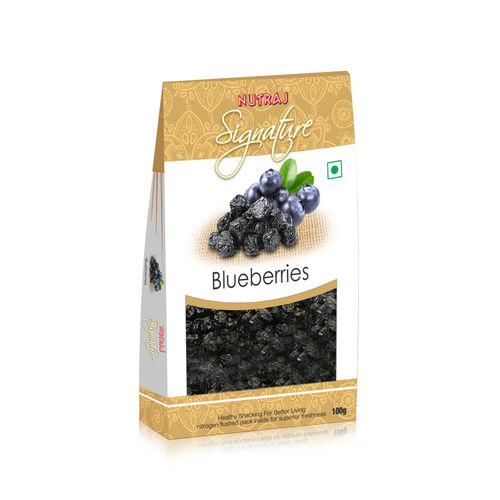 Nutraj Signature - Dried Blueberries 100G - Vacuum Pack