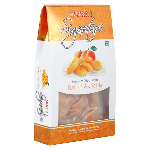 Nutraj Signature - Premium Dried Pitted Turkish Apricots - 200g - Vacuum Pack