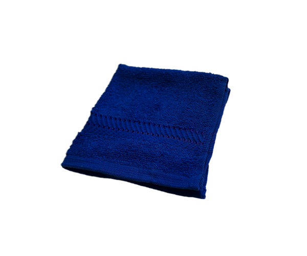 Stellar Home Crystal Collection - Blue 1 Piece Face Towel, (100% Cotton, 30 x 30 cms)
