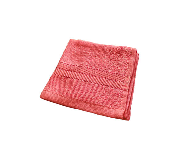Stellar Home Crystal Collection - Coral 1 Piece Face Towel, (100% Cotton, 30 x 30 cms)