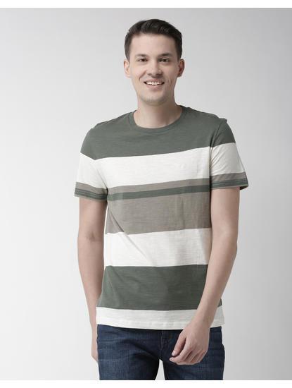Green Striped T-Shirt