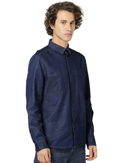 100% Cotton Indigo Shirt