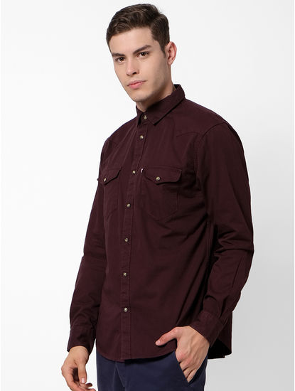 100% Cotton Brown Shirt