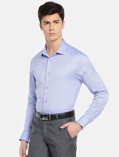 100% Cotton Blue Shirt