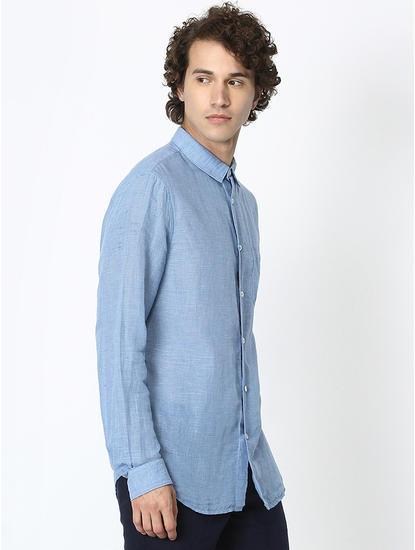 Linen Blue Shirt