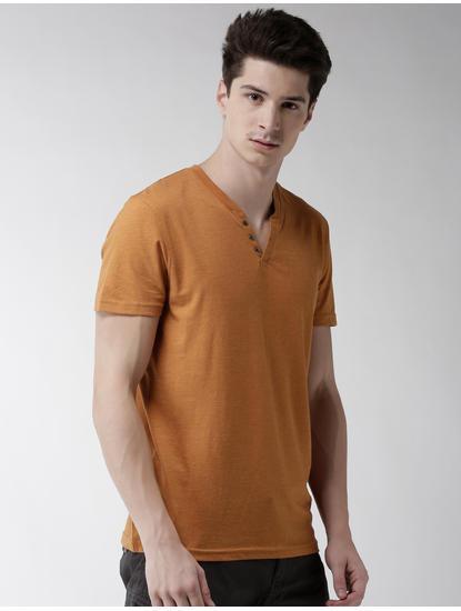 Orange Melange T-Shirt