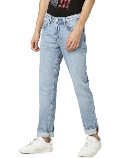 Slim Fit Blue Jeans