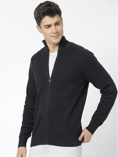 100% Cotton Regular fit high neck Sweatshirt