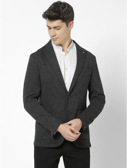 Slim Fit Grey Blazer