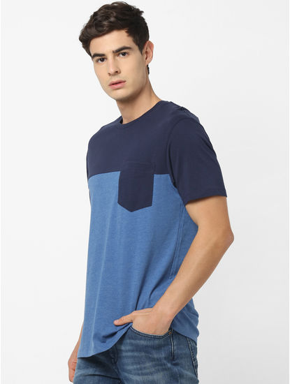 GUESS WHO-Navy T-Shirt
