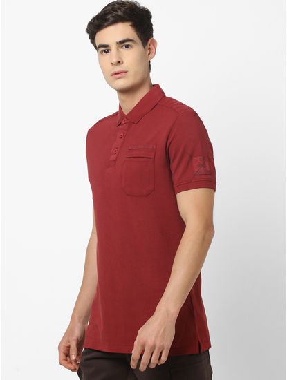 100% Cotton Solid Polo T-Shirt