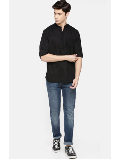 100% Cotton Black Shirt