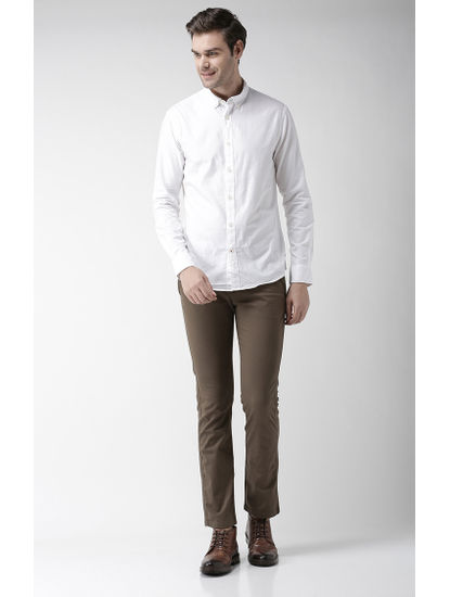 100% Cotton White Shirt