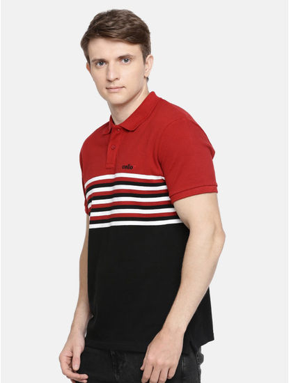 100% Cotton Red Polo T-Shirt